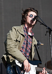 Jamie T on the Radio One/NME Stage, Friday at T in the Park 2010..Pic ©2010 Michael Schofield. All Rights Reserved.