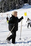 Fotosessie met de koninklijke familie in Lech /// Photoshoot with the Dutch royal family in Lech .<br /> <br /> Op de foto / On the photo: Koningin Beatrix /////  Queen Beatrix
