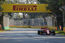 March 16, 2019 - CHARLES LECLERC during qualifying for the 2019 Formula 1 Australian Grand Prix on March 16, 2019 In Melbourne, Australia  (Credit Image: © Christopher Khoury/Australian Press Agency via ZUMA  Wire)