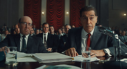 RELEASE DATE: September 27, 2019 TITLE: The Irishman STUDIO: STX Entertainment DIRECTOR: Martin Scorsese PLOT: A mob hitman recalls his possible involvement with the slaying of Jimmy Hoffa. STARRING: .AL PACINO as Jimmy Hoffa. (Credit Image: © STX Entertainment/Entertainment Pictures/ZUMAPRESS.com)