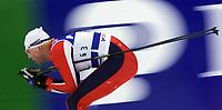 LAHTIS 010219 - SKIDVM<br />Skid-vm pŒgŒr fšr fullt med herrarnas 30 km klassisk stil mŒndagen 19 februari i Lahtis i Finland.<br />Bilden: Frode Estil frŒn Norge tog silver.<br />Foto: Henrik Montgomery  Kod: 1066<br />** F-BILD **<br />COPYRIGHT PRESSENS BILD<br />DIGITAL KAMERA