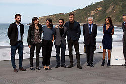 Photocall - Actor Ewan McGregor with Jose Antonio Bayona and crew during the San Sebastian Film Festival, September 27, 2012. Photo By Nacho Lopez / DyD Fotografos / i-Images.SPAIN OUT
