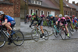 Joëlle Numainville (Cylance) at the 112.8 km Le Samyn des Dames on March 1st 2017, from Quaregnon to Dour, Belgium. (Photo by Sean Robinson/Velofocus)