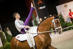 Team AUT, Alessio L Amabile, Maria Lehrmann - Squad compulsory - Alltech FEI World Equestrian Games™ 2014 - Normandy, France.<br /> © Hippo Foto Team - Dirk Caremans<br /> 02/09/14