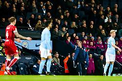 Bristol City Assistant Head Coach Dean Holden looks on - Rogan/JMP - 09/01/2018 - Etihad Stadium - Manchester, England - Manchester City v Bristol City - Carabao Cup Semi Final First Leg.