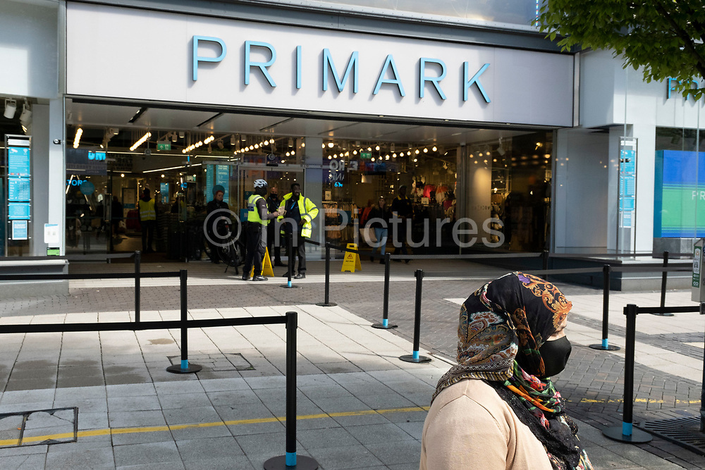 As the coronavirus restrictions continue the process of easing, more people begin to come to the city centre on 18th May 2021 in Birmingham, United Kingdom. After months of lockdown, the first signs that life will start to get back to normal begin, with more people enjoying the company of others in public, as the rule of six starts the first stage of lockdown ending.