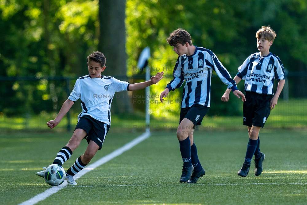 01-06-2019 NED: Strijd om de Vechtcup, Maarssen<br /> Voetbaltoernooi vv Maarssen O13 en O15 / Samuel