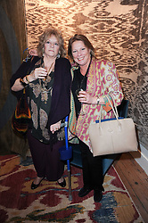 Left to right,MICHAELLA IRWIN and  VISCOUNTESS GORMANSTON at the opening of Luke Irwin's showroom at 22 Pimlico Road, London SW1 on 24th November 2010.