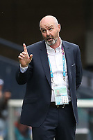 UEFA Euro 2020 Championship Group D match between Scotland v Czech Republic Hampden Park on June 14, 2021 in Glasgow, Scotland<br /> <br /> Scotland manager Steve Clarke wags the finger.<br /> <br /> Credit: COLORSPORT/Ian MacNicol