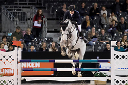Greeve Michael, NED, Emir R<br /> Jumping Indoor Maastricht 2016<br /> © Hippo Foto - Dirk Caremans<br /> 12/11/2016