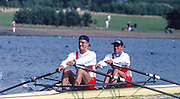 Hamilton, Scotland,   SUI.JM2X.  Andre VONARBURG and  Olivier GREMAUD,  FISA 1996 Junior and Non Olympic World Championships, Strathclyde Country Park, Rowing Course, Lanarkshire, 5/11.08.1996 [Mandatory Credit. Peter Spurrier/Intersport Images]