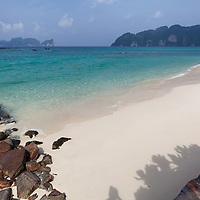 The beach at Koh Phi Phi Leh Island.