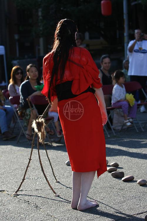 """Seattle Japantown """"Nihonmachi Nites"""" August 13, 2011."""