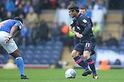 Matthew Kennedy during the EFL Sky Bet League 1 match between Blackburn Rovers and Portsmouth at Ewood Park, Blackburn, England on 21 October 2017. Photo by George Franks.