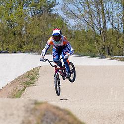 05-05-2020: Wielrennen: BMX KNWU: Papendal <br />Dave van der Burg  (Heesch)
