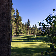 Daily life in the Eastern Sierra mountains. The Sierra Star golf course