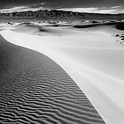 Death Valley CA & Rhyolite NV (B/W)