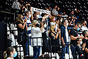 Tifosi Segafredo Virtus Bologna<br /> Umana Reyer Venezia - Segafredo Virtus Bologna<br /> Discovery+ Supercoppa 2021 - Final Eight - Semifinale<br /> LBA Legabasket Serie A UnipolSAI 2021/2022<br /> Bologna, 20/09/2021<br /> Foto L.Canu / Ciamillo-Castoria