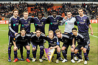ANDERLECHT 25/02/2010 - CONSTANT VANDDEN STOCK STADIUM <br /> SPORT - FOOTBALL - EUROPA LEAGUE 2009/2010<br />  RSC ANDERLECHT v ATHLETIC CLUB BILBAO -   <br /> TEAM ANDERLECHT <br /> PICTURE PHILIPPE CROCHET - JW / PHOTO NEWS / DPPI
