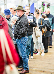 Pictured: <br /> Book fanatics headed to Charlotte Square in Edinburgh which is the hub of the international Book Festival to meet the authors and also to meet up with fellow fans of the printed word.<br /> <br /> <br /> Ger Harley | EEm 14 August 2017