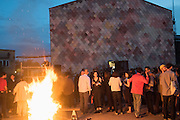 Assemble 5th Birthday party. Sugarhouse Studios. Stratford. London. 19 June 2015