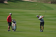 Guido Migliozzi (ITA) on the 17th during the Pro-Am of the Commercial Bank Qatar Masters 2020 at the Education City Golf Club, Doha, Qatar . 04/03/2020<br /> Picture: Golffile | Thos Caffrey<br /> <br /> <br /> All photo usage must carry mandatory copyright credit (© Golffile | Thos Caffrey)