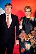 LEEUWARDEN - Koning Willem-Alexander en koningin Maxima verrichten de officiele openingshandeling va