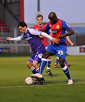 Photo: Tony Oudot/Richard Lane Photography. Dagenham & Redbridge v Rochdale. Coca-Cola Football League Two. 21/11/2009. <br />