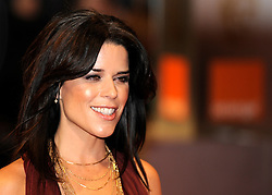 ©London News Pictures. 13/02/2011. Actress Neve Campbell Arriving at BAFTA Awards Ceremony Royal Opera House Covent Garden London on 13/02/2011. Photo credit should read: Peter Webb/London News Pictures