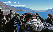 From Tibet Voyage en Terre Interieure by Sylvain and Nathalie Labeste 2010 Georges Naef Editions Kodachrome and Ektachrome films Nikon bodies and lenses. They are our first photographs as beginners...