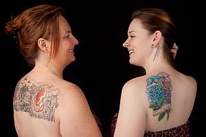 Jenn & Jess, Tattoo + You, A Photo Story of Body Ink