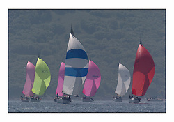 Bell Lawrie Series Tarbert Loch Fyne - Yachting.The third day's inshore races, which transpired to be the last...GBR6R, Crackerjack, a Swan 45 with the rest of the class one fleet astern. .