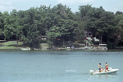 Lake Bloomington.  mid to late 1970's.<br /> <br /> This image was scanned from a slide, print or transparency.  Image quality may vary.  Dust and other unwanted artifacts may exist.