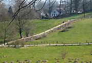 Nederland, Ubbergen, 20-3-2014 Het was vandaag een dag met mooi en warm weer. Warmterecord. Heerlijkheid Beek. Geldersch landschap. Foto: Flip Franssen/Hollandse Hoogte