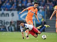 v.l. Hakan Calhanoglu, Tim Sparv (Fuerth)<br /> Fussball Bundesliga, Relegation Hinspiel, Hamburger SV - SpVgg Greuther Fuerth<br /> Norway only