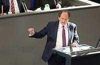 DEU, Deutschland, Germany, Berlin, 25.02.2021: Alexander Graf Lambsdorff (FDP) in der Plenarsitzung im Deutschen Bundestag.