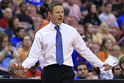 December 16, 2017 - Sunrise, FL, USA - Florida head coach Mike White on the sidelines in a 71-69 loss against Clemson during the Orange Bowl Basketball Classic at the BB&T Center in Sunrise, Fla., on Saturday, Dec. 16, 2017. (Credit Image: © Al Diaz/TNS via ZUMA Wire)
