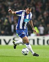 20090415: PORTO, PORTUGAL - FC Porto vs Manchester United: Champions League 2008/2009 – Quarter Finals – 2nd leg. In picture: Mariano Gonzalez . PHOTO: Manuel Azevedo/CITYFILES