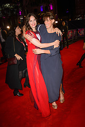 Ruth Wilson and Clio Barnard attending the premiere of Dark River, as part of the BFI London Film Festival, at the Odeon cinema in Leicester Square, London. Picture date: Saturday October 7th, 2017. Photo credit should read: Matt Crossick/ EMPICS Entertainment.