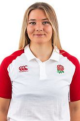 Beth Wilcock of England Rugby 7s - Mandatory by-line: Robbie Stephenson/JMP - 17/09/2019 - RUGBY - The Lansbury - London, England - England Rugby 7s Headshots