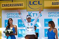 Podium, Christophe Laporte (FRA - Cofidis) during the 105th Tour de France 2018, Stage 15, Millau - Carcassonne (181,5 km) on July 22th, 2018 - Photo Luca Bettini / BettiniPhoto / ProSportsImages / DPPI