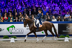 Pap Kimberly, NED, Vloet-Victory<br /> KWPN hengstenkeuring - 's Hertogenbosch 2020<br /> © Hippo Foto - Dirk Caremans<br /> 31/01/2020