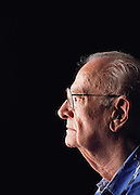 Sir Arthur C. Clarke in Colombo, Sri Lanka. Sir Arthur is best known for the book 2001: A Space Odyssey. MODEL RELEASED