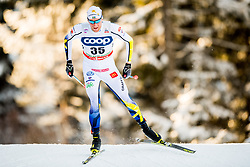 December 16, 2017 - Toblach, ITALY - 171216 Daniel Rickardsson of Sweden competes in men's 15km interval start free technique during FIS Cross-Country World Cup on December 16, 2017 in Toblach..Photo: Jon Olav Nesvold / BILDBYRN / kod JE / 160104 (Credit Image: © Jon Olav Nesvold/Bildbyran via ZUMA Wire)