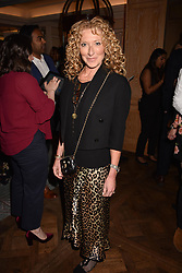 Kelly Hoppen at the Fortnum & Mason Food and Drink Awards, Fortnum & Mason Food and Drink Awards, London, England. 10 May 2018.