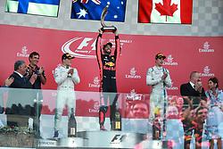 June 25, 2017 - Baku, Azerbaijan - Motorsports: FIA Formula One World Championship 2017, Grand Prix of Europe, .#77 Valtteri Bottas (FIN, Mercedes AMG Petronas)#3 Daniel Ricciardo (AUS, Red Bull Racing), #18 Lance Stroll ( CAN, Williams Martini Racing) (Credit Image: © Hoch Zwei via ZUMA Wire)