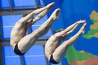 Stup<br /> Foto: imago/Digitalsport<br /> NORWAY ONLY<br /> <br /> DEVOR Filip Julius and JENSEN Daniel Team NOR Diving - Men s 3m synchronised springboard preliminaries Day 05 28/07/2015 XVI FINA World Championships Aquatics Swimming Kazan Tatarstan RUS July 24 - Aug. 9 2015