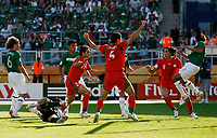 Photo: Glyn Thomas.<br />Mexico v Iran. Group D, FIFA World Cup 2006. 11/06/2006.<br /> Iran equalise thanks to a goal from Yahya Golmohammadi.