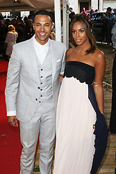 Marvin Humes, Rochelle Humes, Glamour Women of the Year Awards, Berkeley Square Gardens, London UK, 02 June 2014, Photos by Richard Goldschmidt /LNP © London News Pictures