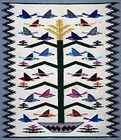 """Navajo """"Tree of Life"""" Hand Woven Rug. Image taken with a Nikon D3s camera and 50 mm lens (ISO 200, 50 mm, f/5.6, 1/15 sec). Raw image processed with Capture One Pro and Photoshop CC."""